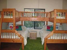 Wood Bunk Bed Plans by Best 25 Triple Bunk Beds Ideas On Pinterest Triple Bunk 3 Bunk