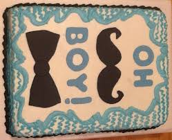 mustache and bow tie baby shower mustache and bow tie baby shower cake cakecentral