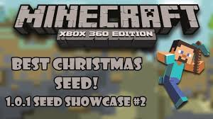 best christmas seed minecraft xbox 360 1 0 1 seed showcase 2