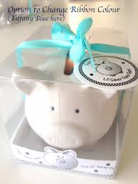 piggy bank favors lil saver ceramic mini piggy bank baby shower favour with polka