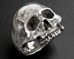 silver skeleton ring holder images Custom gold and silver skull jewelry by johnny10rings on etsy jpg