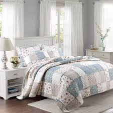 King Size Quilted Bedspreads Online Get Cheap Patchwork Quilt Bedding Aliexpress Com Alibaba