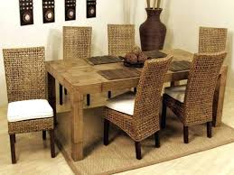 indoor wicker dining table indoor wicker dining chairs rattan wicker dining room chairs design
