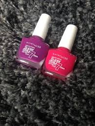 forever strong super stay 7 day gel nail midnight red http