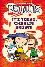 peanuts u0027s tokyo charlie brown book charles schulz