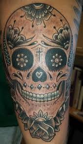 sugar skull tattoos with roses meaning best flowers and rose 2017