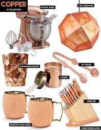 design elements copper in the kitchen u2014 the decorista