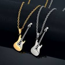 stainless steel guitar necklace images 38 best necklace and pendants images collars drop jpg