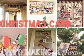 christmas card displays because no one sends you those to have