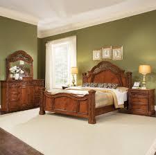 furniture varnished bedroom furniture sets with canopy bed