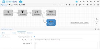 Map R Read And Write Json To Mapr Db With Streamsets Data Collector