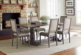 dove gray 5 piece dining with side chair muses rc willey