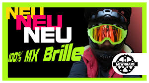 100 motocross goggles 100 the accuri mx goggle mtb brille unboxing düsseldorf youtube