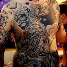 84 modern japanese tattoos design on back