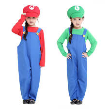 Super Mario Family Halloween Costumes Kids Mario Costumes Promotion Shop For Promotional Kids Mario