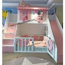 kaydıraklı çocuk ranzamız altı montessori yataklı naz