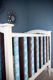 vertical crib bumpers safer because each rail is padded