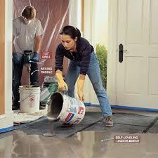 how to level uneven concrete floors for maximum flatness diy