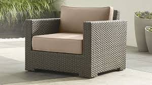 Patio Furniture With Sunbrella Cushions Ventura Umber Lounge Chair With Sunbrella Cushions In Lounge