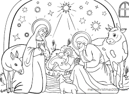 Download Free Printable Christmas Coloring Pages For Kids Free Printable Nativity Coloring Pages