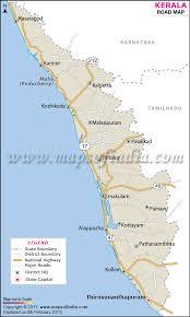 map in road kerala road network map