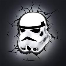 star wars episode vii 3d wall lights u2013 bb 8 stormtrooper r2 d2