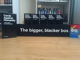 cards against humanity reject pack cards against humanity unboxing and overview