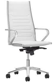 fauteuil bureau direction fauteuil direction design cuir blanc noir et chrome class m
