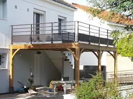 auvent en bois pour terrasse terrasse en bois kit u2013 myqto com