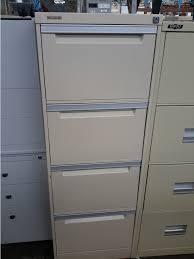 Brownbuilt Filing Cabinet 4 Drawer Steel Filing Cabinet Brownbuilt W470 X D620 X H1320mm