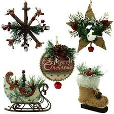 time lodge ornaments set of 5 walmart