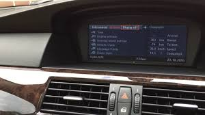 how to electronically check the engine oil level on a bmw idrive