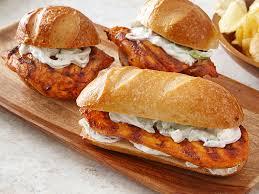 Buffalo Chicken Grilled Buffalo Chicken Sandwiches Perdue