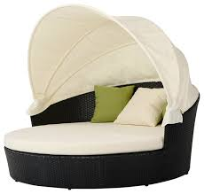 Circle Patio Furniture by Round Outdoor Day Bed Modern Outdoor Sofas By La Furniture Store