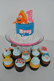 bubble guppies cake and cupcakes cakecentral com