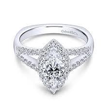 marquise halo engagement ring drew 14k white gold marquise halo engagement ring er7741w44jj