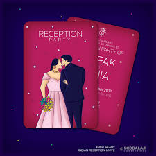 indian wedding reception invitation indian wedding reception invitation format picture ideas references