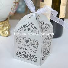 souvenir for wedding wholesale souvenir wedding laser cut wedding cake boxes for