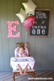 baby girl 1st birthday ideas theme birthday party heart of deborah