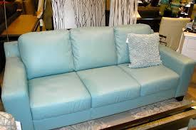 Teal Blue Leather Sofa Blue Leather Sofa Aifaresidency