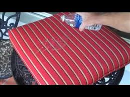 how waterproof are sunbrella outdoor cushion fabrics youtube