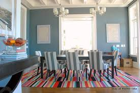 Rugs For Dining Room by Stay At Home Ista Rainbow Stripes For The Dining Room Rug