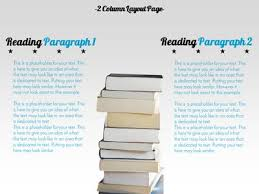 reading exploration a powerpoint template from presentermedia com