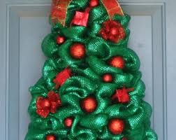 Decoration For Christmas Tree by Holiday And Christmas Wreaths Etsy