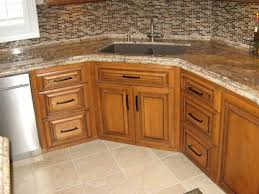 Corner Sink Kitchen Cabinet Corner Kitchen Sink Cabinet Throughout Contemporary 1