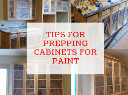 how to prep cabinets for painting tips for prepping cabinets for paint dengarden