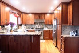 Kitchen Cabinet Features Cherry Shaker Kitchen Cabinets