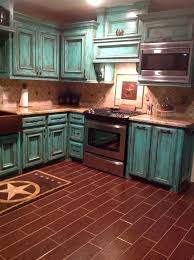 Distressed Turquoise Kitchen Cabinets  Colorviewfinderco - Turquoise kitchen cabinets