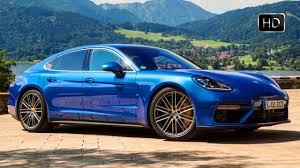 porsche panamera turbo 2017 silver 2017 porsche panamera turbo sapphire blue metallic ext int