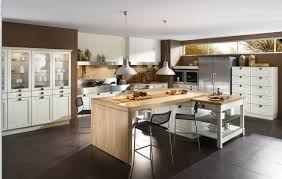 modern wooden kitchens kitchen island table kitchen island also used as a table and bar